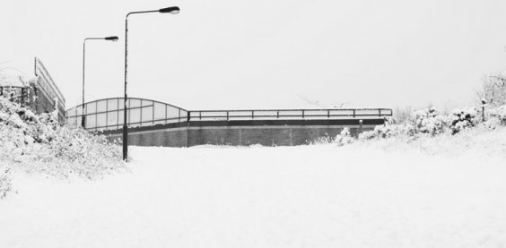 Pedestrian and Cycle Bridge, Circa Green Man Roundabout (#00840)